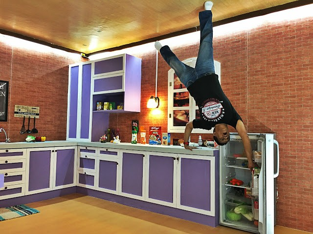 bali world upside down kitchen