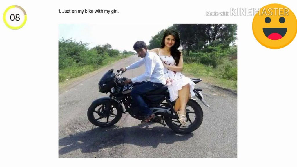 """Just me and """"my girl"""" together photoshop,boy made two pics together in one photo"""
