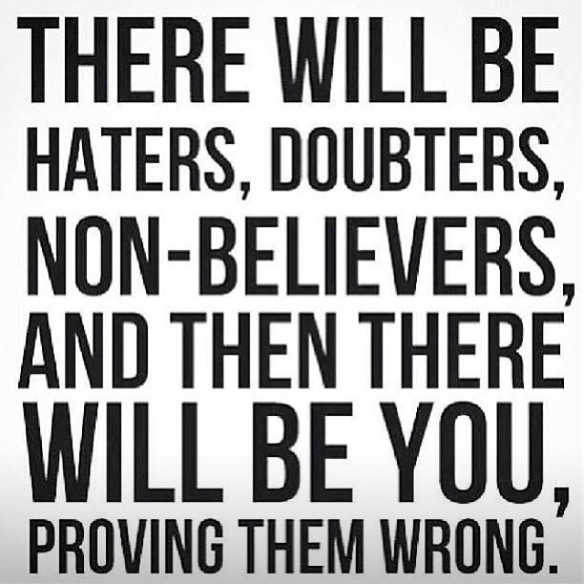 10 Hater Inspirational Quotes