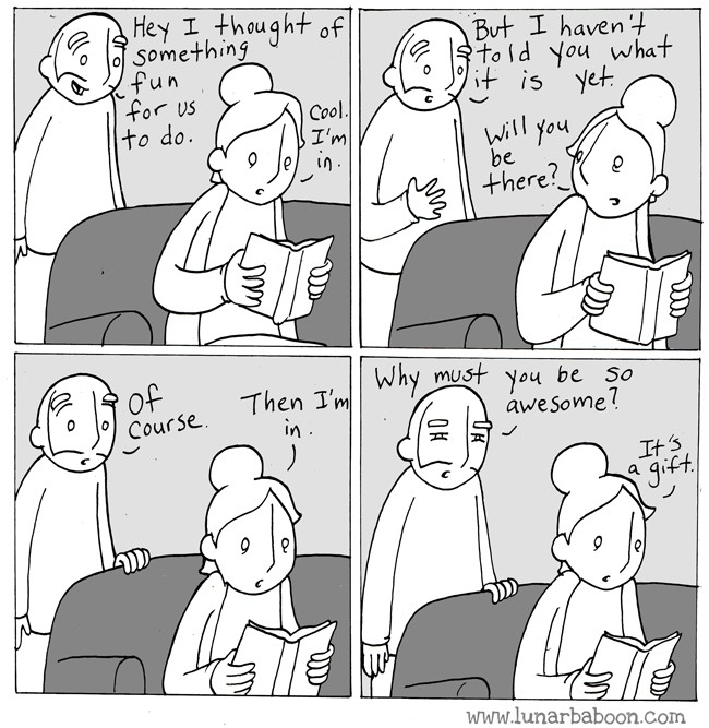 15 Great Comics of Artist Lunarbaboon