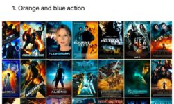 There are Only 10 Color Types of Movies