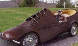 Vehicles something between Shoes & Cars!