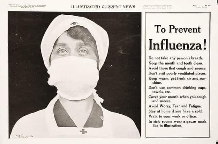 How it was in the 1918 Year during the Influenza Pandemic