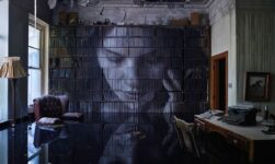 Abandoned mansion Turned in a unique Art Object